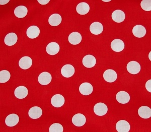 red and white spots